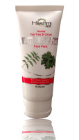 Tea Tree & Clove Anti Acne Face Pack, Herbal-face-pack