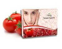 tomato facial scrub, tomato facial wash, tomato facial peel