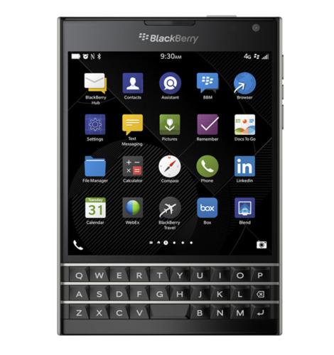 New BlackBerry Passport Mobile