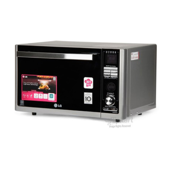 Lg Mj3283bcg 32 L Convection Microwave Oven Silver